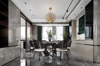富裕型140平米四轻奢风格餐厅图