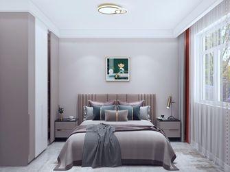 120平米三室三厅现代简约风格卧室设计图