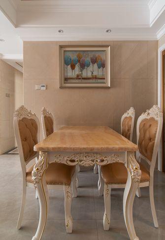 富裕型三室一厅欧式风格餐厅欣赏图