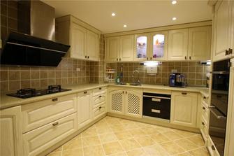 15-20万100平米三室两厅欧式风格厨房设计图