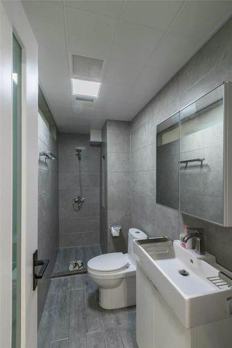 5-10万80平米公寓北欧风格卫生间图片大全