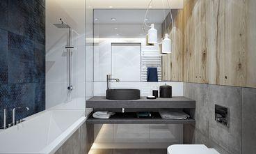 经济型70平米公寓北欧风格卫生间图片