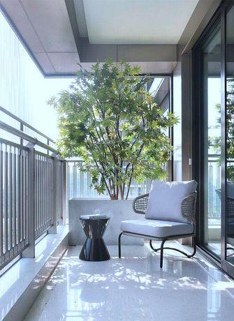 20万以上140平米四室一厅中式风格阳台装修案例