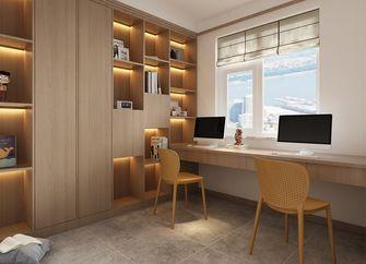 20万以上140平米复式日式风格书房图片