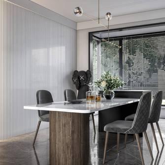 140平米三室两厅轻奢风格厨房欣赏图