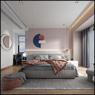 10-15万140平米三室四厅现代简约风格卧室图片大全