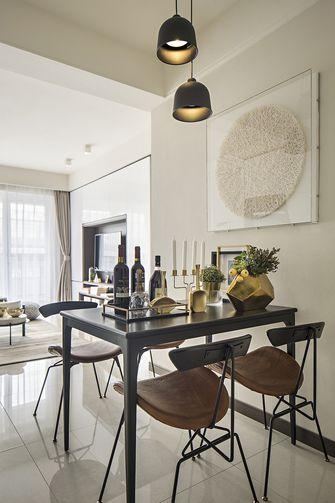 富裕型120平米四室两厅现代简约风格餐厅图