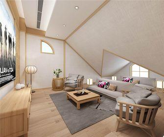 20万以上140平米复式日式风格阁楼装修效果图