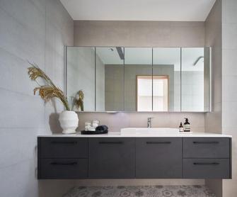 豪华型140平米三室两厅欧式风格卫生间装修案例