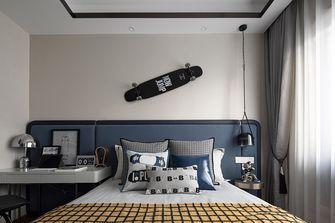 140平米三室两厅中式风格青少年房图