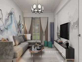 10-15万一室两厅轻奢风格客厅图