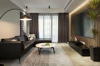 5-10万90平米三室两厅现代简约风格客厅欣赏图