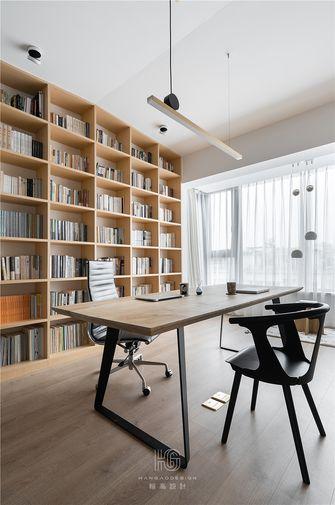 20万以上140平米复式现代简约风格书房图