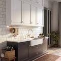 20万以上140平米法式风格厨房效果图