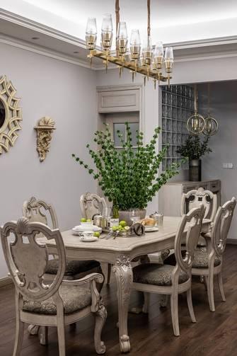 10-15万120平米三室两厅港式风格餐厅装修案例