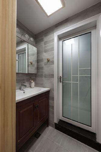 110平米三室两厅日式风格卫生间图
