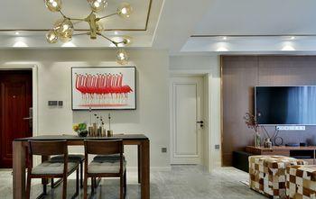 富裕型140平米三室两厅混搭风格玄关图片