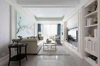 5-10万80平米美式风格客厅装修案例