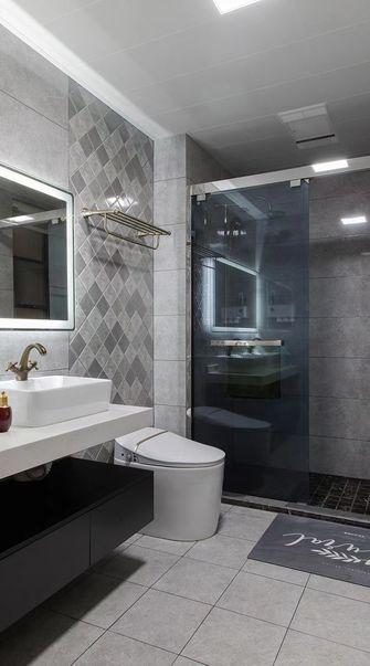 130平米三美式风格卫生间装修图片大全