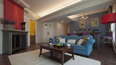 110平米三美式风格客厅图