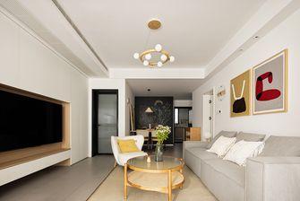 120平米混搭风格客厅设计图