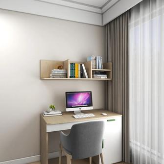 110平米四室两厅现代简约风格书房欣赏图