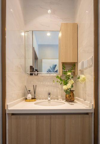 5-10万50平米一室一厅轻奢风格卫生间效果图