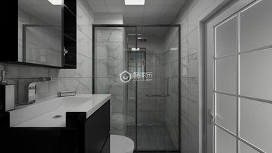 60平米公寓田园风格卫生间装修案例