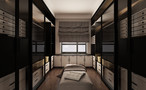 富裕型130平米三室两厅欧式风格衣帽间图片