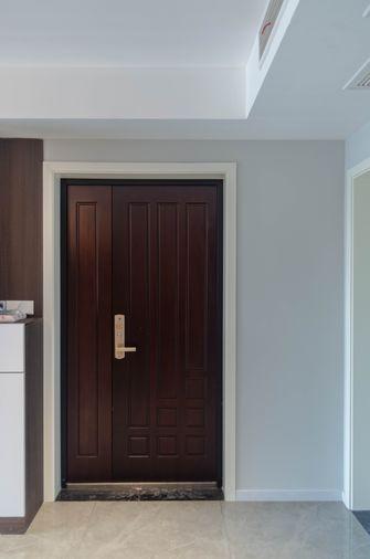 5-10万140平米三室两厅现代简约风格玄关装修案例