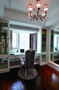 140平米三室两厅法式风格书房图