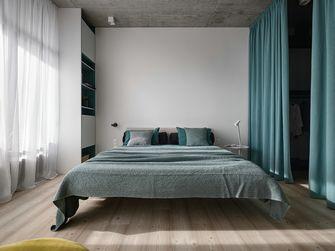 富裕型110平米三室一厅工业风风格卧室装修案例
