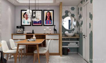 富裕型120平米三北欧风格餐厅图片