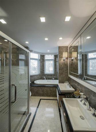 120平米四室两厅欧式风格卫生间图片大全