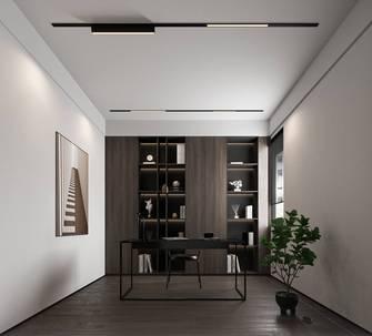 120平米四现代简约风格书房图片大全