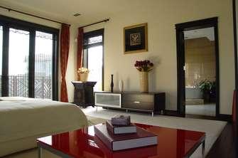 110平米四中式风格卧室欣赏图