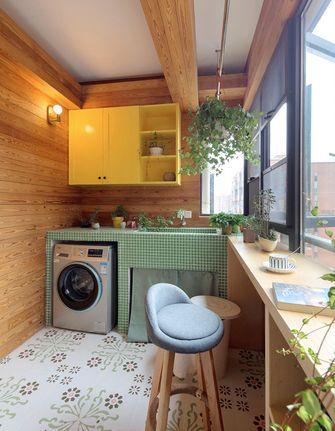 经济型80平米三室两厅混搭风格阳台图片