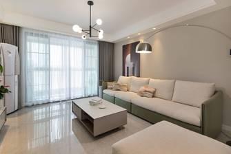 5-10万120平米三室两厅现代简约风格客厅装修图片大全