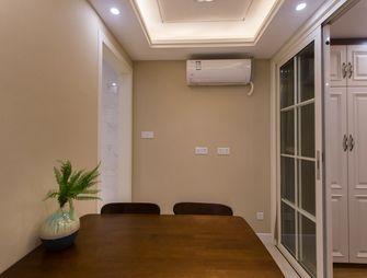 富裕型50平米一室一厅现代简约风格餐厅图