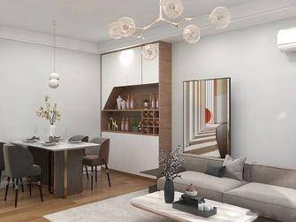 经济型50平米一室一厅现代简约风格客厅装修图片大全