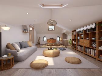 豪华型140平米中式风格阁楼装修效果图