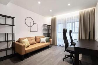 10-15万120平米三室两厅现代简约风格书房图片大全