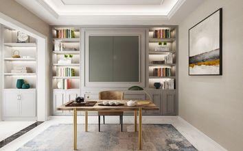 140平米四室两厅轻奢风格书房图