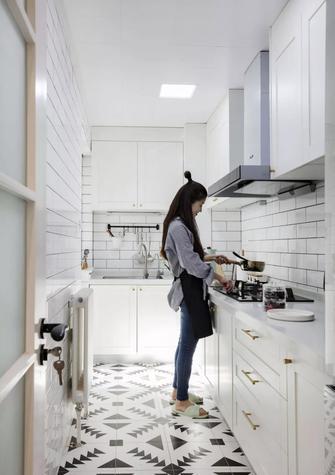 富裕型80平米一室一厅北欧风格厨房装修效果图