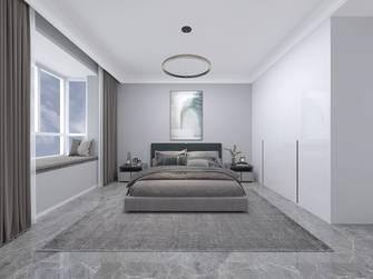 140平米三室两厅现代简约风格卧室效果图