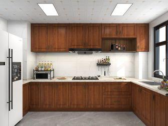 15-20万110平米三室两厅新古典风格厨房装修图片大全