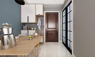 富裕型140平米四室两厅美式风格玄关设计图