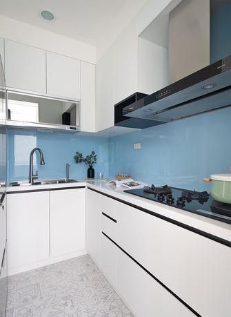 80平米三欧式风格厨房图