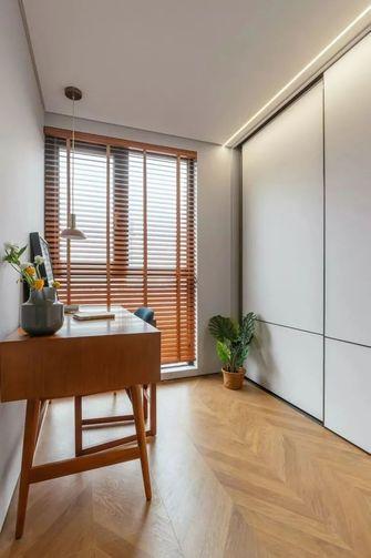 10-15万90平米三室两厅北欧风格书房设计图