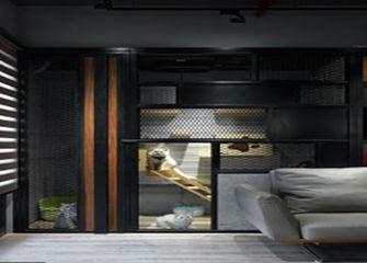 富裕型50平米公寓混搭风格客厅图片